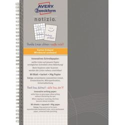 Kołozeszyt Avery Zweckform Notizio Basic 7011 A5/80k. kratka