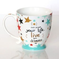 Kubek live your dreams Prezent Upominek Podarunek na każdą okazję