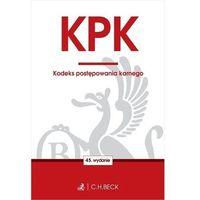 Biblioteka biznesu, Kpk. kodeks postępowania karnego wyd. 2020 - praca zbiorowa (opr. miękka)