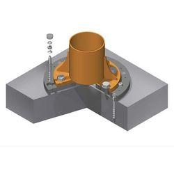 System kotwowy, Ø płyty 680 mm, do nośności 125 - 250 kg, do wysięgu 3000 - 5000
