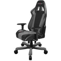 DXRacer fotel gamingowy KS06/NG, czarny/szary (KS06/NG)