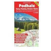 Mapy i atlasy turystyczne, Podhale Tatry Pieniny Orawa..m.tur./Gauss/1:75 (opr. miękka)