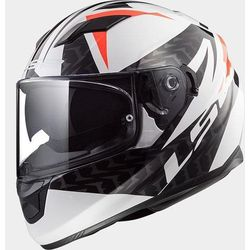 KASK LS2 FF320 STREAM EVO COMMANDER WHI/BLK RED