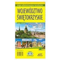 Mapy i atlasy turystyczne, Województwo świętokrzyskie Mapa administracyjno-turystyczna (opr. broszurowa)