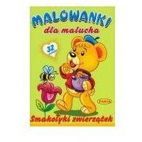 Książki dla dzieci, Malowanki dla malucha - smakołyki zwierzątek pasja (opr. broszurowa)