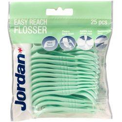 Jordan Nici dentystyczne i wykałaczki 2w1 Easy Reach Flosser 1op.-25szt - Jordan OD 24,99zł DARMOWA DOSTAWA KIOSK RUCHU