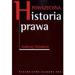 Powszechna historia prawa (opr. miękka)