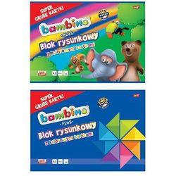 Blok rysunkowy BAMBINO PLUS A3 16k. Grube kartki - kolorowy