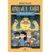 Książki dla dzieci, Amelia i Kuba. Złota karta (opr. twarda)