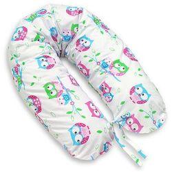 MAMO-TATO Poduszka dla kobiet w ciąży Sówki białe