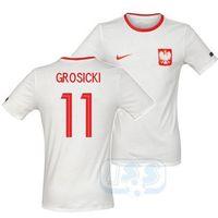 Piłka nożna, BPOL146+: Polska - t-shirt Nike