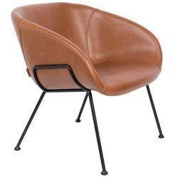 Zuiver Fotel lounge FESTON brązowy 3100073