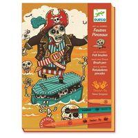 Kreatywne dla dzieci, Zestaw artystyczny - Piraci