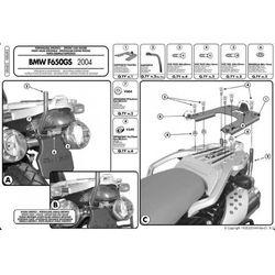 Kappa KR685 Stelaż centralny Bmw F 650 Gs (04> 07)