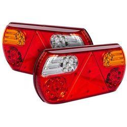 Zestaw: 2x Fabrilcar by Aspöck lampa tylna LED 6-funkcyjna - lewa + prawa