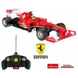 Licencjonowany Zdalnie Sterowany Bolid Ferrari F1 RASTAR (1:18) + Bezprzewodowy Pilot.