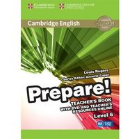 Książki do nauki języka, Cambridge English Prepare! 6 Teacher's Book - Louis Rogers