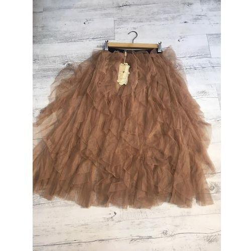 Spódnice, Tiulowa spódnica - Camel