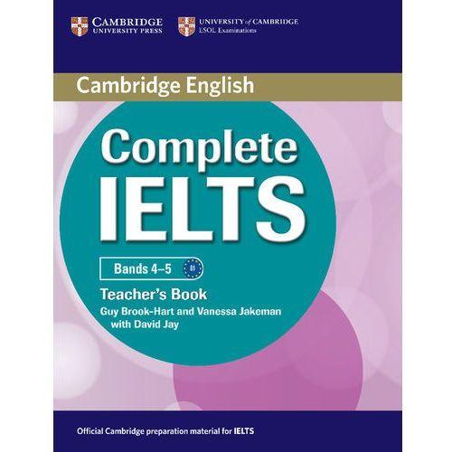 Książki do nauki języka, Complete IELTS Bands 4-5 Książka Nauczyciela (opr. miękka)