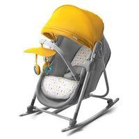 Łóżeczka turystyczne, Leżaczek bujaczek łóżeczko 5w1 Unimo żółty - KinderKraft