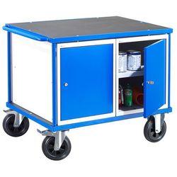 Wózek warsztatowy Mobile, dwie szafki, 875x1000x700mm