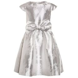 mint&berry girls BIG BOW DRESS OLD Sukienka koktajlowa white/silver