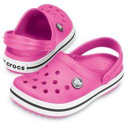 Crocs Crocband Fuchsia Różowe Fuksja klapki dla dzieci Różne rozmiary Promocja (-5%)