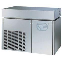 Łuskarka do lodu 400 kg/24 h, chłodzona powietrzem, 2,1 kW, 900x588x705 mm | NTF, SM 750 A