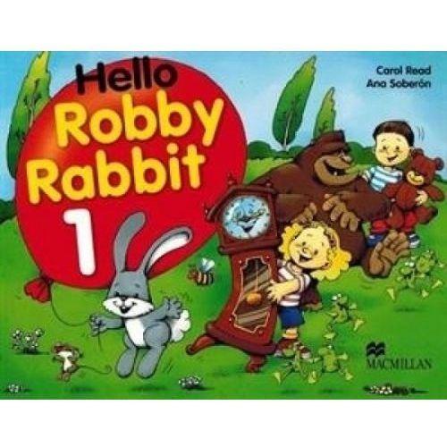 Książki do nauki języka, Hello Robby Rabbit 1 (opr. miękka)