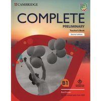 Książki do nauki języka, Complete Preliminary Teacher's Book with Downloadable Resource Pack (opr. miękka)