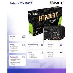 Palit GeForce GTX 1660 Ti StormX 6GB GDDR6 192 bit