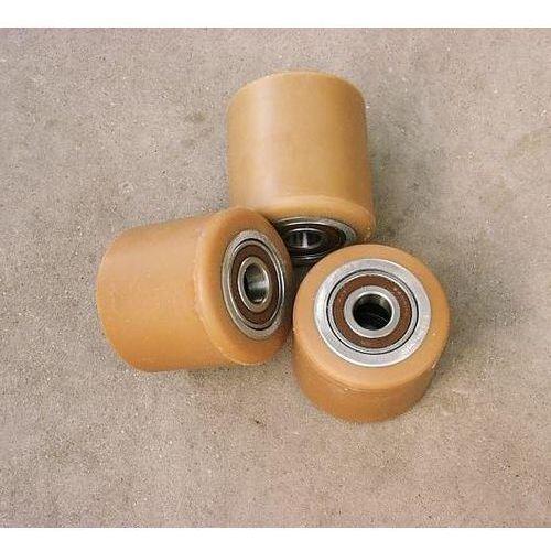 Pozostałe akcesoria do narzędzi, ROLKA metalowo-poliuretanowa do wózka paletowego 80 x 60 mm