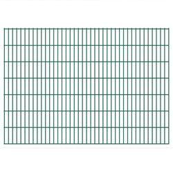 Panel ogrodzeniowy 2008x1430 mm, zielony