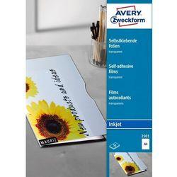 Folia do drukarek atramentowych A4 50 szt. Avery 2501