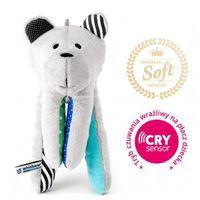Pozostałe zabawki dla najmłodszych, Szumiący Miś z funkcją CRYsensor Whisbear SOFT - Turkusowy 5905279995390