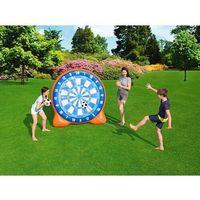 Zabawki dmuchane, Bestway Gigantyczna dmuchana tarcza do piłki 157x107x157 cm