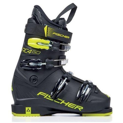 Buty narciarskie dla dzieci, FISCHER Buty RC4 60 Junior Thermoshape Black