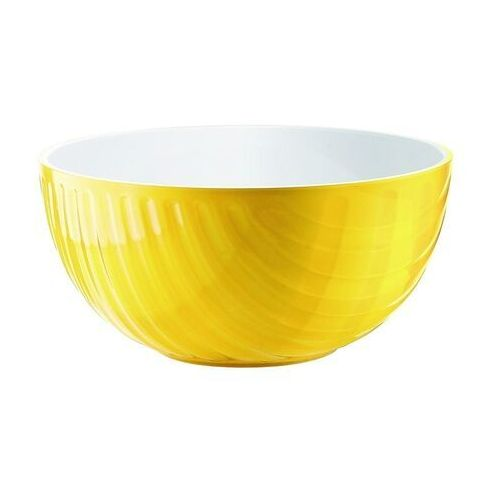 Misy i miski, Miska Mirage, średnica 21.00 cm, żółta - Ø 21.00 cm