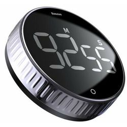 Baseus Heyo Rotation | Stoper kuchenny minutnik timer cyfrowy magnetyczny
