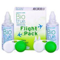 Płyny pielęgnacyjne do soczewek, Płyn do soczewek Biotrue Flight Pack 2 x 60 ml