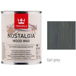 TIKKURILA NOSTALGIA WOOD WAX- wosk do drewna, earl grey, 0.9 l
