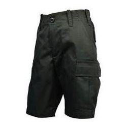 Spodnie Dziecięce Bojówki Krótkie MIRAN Czarny (SDBKMC)