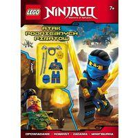 Książki dla dzieci, Lego Ninjago Atak podniebnych piratów - Wysyłka od 3,99 (opr. miękka)