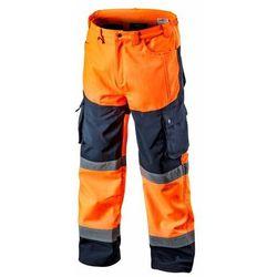 Spodnie robocze SOFTSHELL pomarańczowe XXL NEO