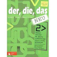 Książki do nauki języka, Der die das neu 2 Zeszyt ćwiczeń Kurs kontynuacyjny (opr. miękka)