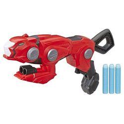 NERF pistolet czerwonego Rangera Power Rangers