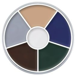 Kryolan CREAM COLOR CIRCLE (ZOMBIE) Kółko 6 kolorów farb Supracolor - ZOMBIE (1306)