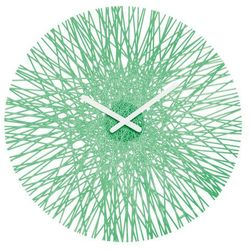 Zegar ścienny Silk miętowy
