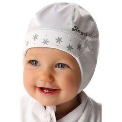 Czapka niemowlęca biała 5X34A1 Oferta ważna tylko do 2019-07-11