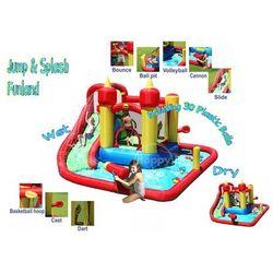 Dmuchany basen ze zjeżdżalnią i armatką - Funland - HappyHop